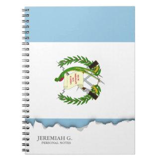 Flagga av Guatemala Anteckningsbok