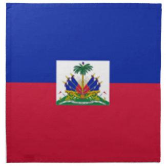 Flagga av Haiti Tygservett