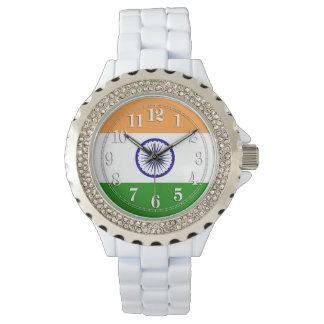 Flagga av Indien Armbandsur