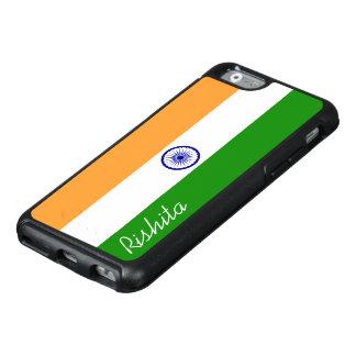 Flagga av Indien med monogramen OtterBox iPhone 6/6s Skal