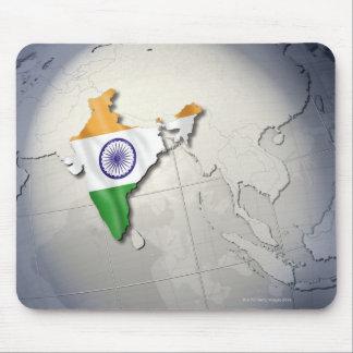 Flagga av Indien Musmatta