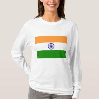 Flagga av Indien Tee Shirts