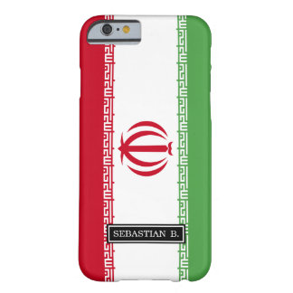 Flagga av Iran Barely There iPhone 6 Skal