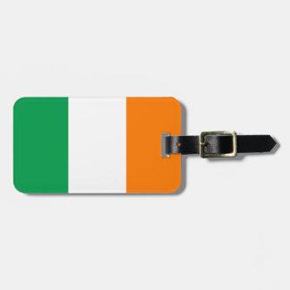 Flagga av Irland, Tricolour irländare Bagagebricka
