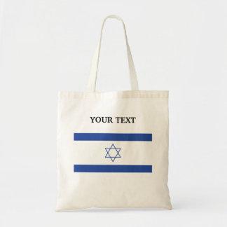 Flagga av Israel Budget Tygkasse