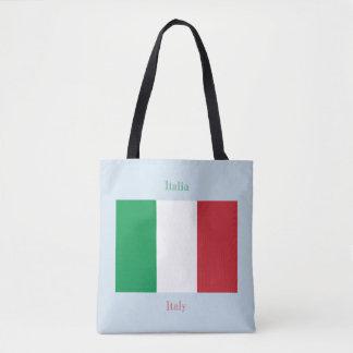 Flagga av italien tygkasse