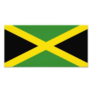 Flagga av Jamaica Fototryck