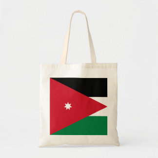 Flagga av Jordanienbudgettotot Budget Tygkasse