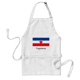 Flagga av Jugoslavien Förkläde