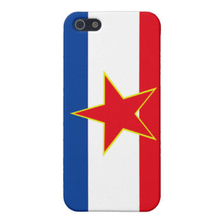 Flagga av Jugoslavien iPhone 5 Cases