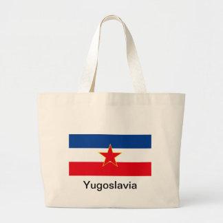 Flagga av Jugoslavien Jumbo Tygkasse