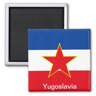 Flagga av Jugoslavien Magnet För Kylskåp
