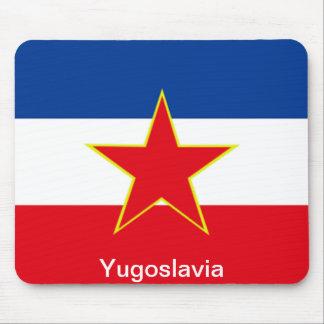 Flagga av Jugoslavien Mus Mattor