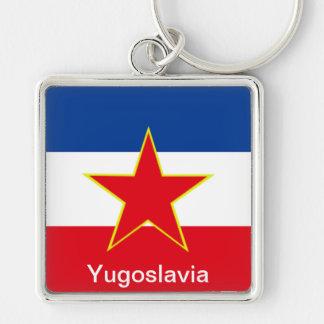 Flagga av Jugoslavien Nyckelring
