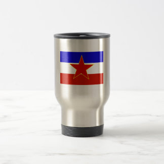 Flagga av Jugoslavien Resemugg