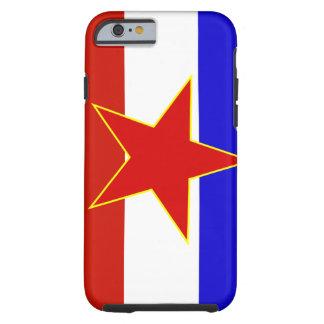 Flagga av Jugoslavien Tough iPhone 6 Skal