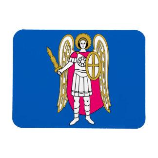 Flagga av Kiev, Ukraina magnet