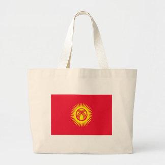 Flagga av Kirgizistan Tygkasse