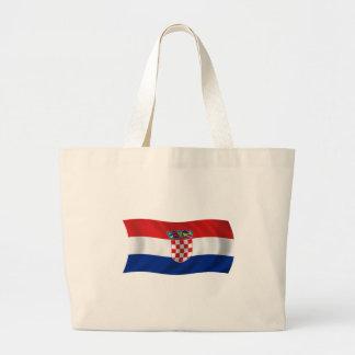 Flagga av Kroatien Jumbo Tygkasse