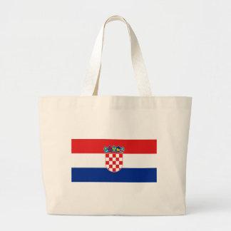 Flagga av Kroatien Tygkasse