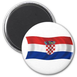 Flagga av Kroatien Magnet