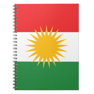 Flagga av kurdistanen (den Alay kurdistanen eller Anteckningsbok