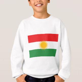 Flagga av kurdistanen (den Alay kurdistanen eller T Shirt