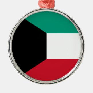 Flagga av Kuwait Julgransprydnad Metall