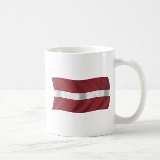 Flagga av Lettland Kaffemugg