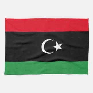 Flagga av Libyen Kökshandduk