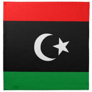 Flagga av Libyen Tygservett
