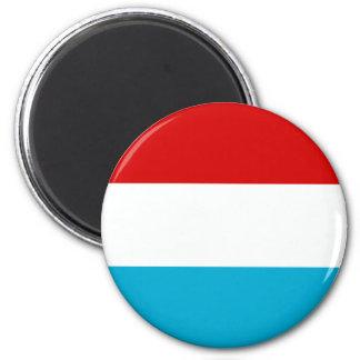 Flagga av Luxembourg Kylskåpsnagnet