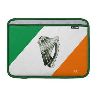 Flagga av Macbook för Irland grön kromharpa luft MacBook Sleeve