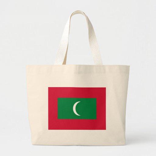 Flagga av Maldiverna Tote Bags