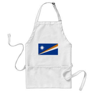 Flagga av Marshallöarnan Förkläde