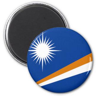 Flagga av Marshallöarnan Magnet Rund 5.7 Cm