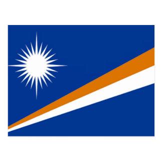 Flagga av Marshallöarnan Vykort