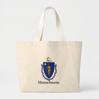 Flagga av Massachusetts Tygkassar