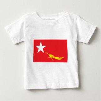 Flagga av medborgareligan för demokrati tshirts