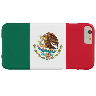 Flagga av Mexico Barely There iPhone 6 Plus Skal