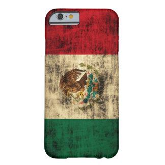 Flagga av Mexico bedrövade fodral för iPhone 6 Barely There iPhone 6 Skal