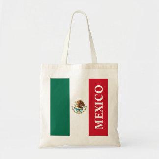 Flagga av Mexico Budget Tygkasse