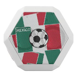 Flagga av Mexico fotboll Vit Bluetooth Högtalare