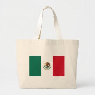 Flagga av Mexico Tote Bags