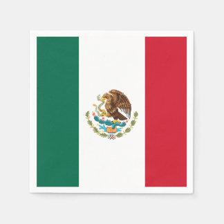 Flagga av Mexico Pappersservett