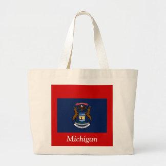 Flagga av Michigan Jumbo Tygkasse