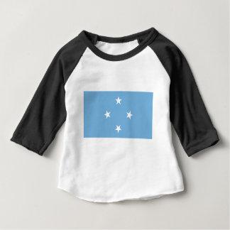 Flagga av Mikronesiska federationen Tee Shirt