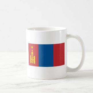 Flagga av Mongoliet - Монголулсынтөрийндалбаа Kaffemugg