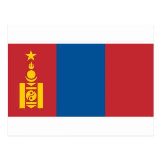 Flagga av Mongoliet - Монголулсынтөрийндалбаа Vykort