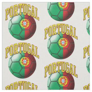 Flagga av mönster för Portugal det portugisiska Tyg